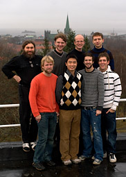 Group members in Norway, November 2008