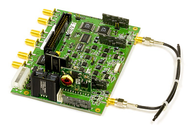 Single-photon detector board from QPN&nbsp;5505 QKD system