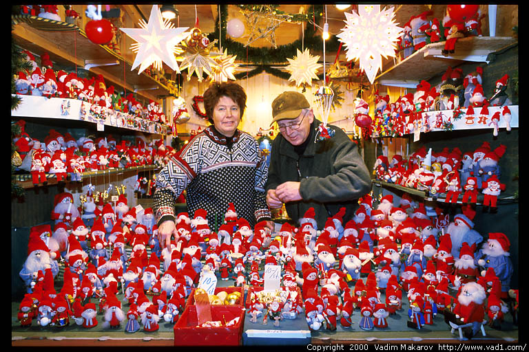 julmarknad i stockholm