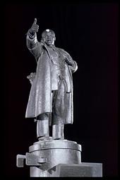 Monument to V. Lenin in St. Petersburg