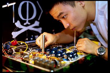 Qin Liu assembles faked-state generator