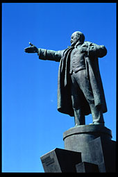 Monument to V. Lenin in St. Petersburg