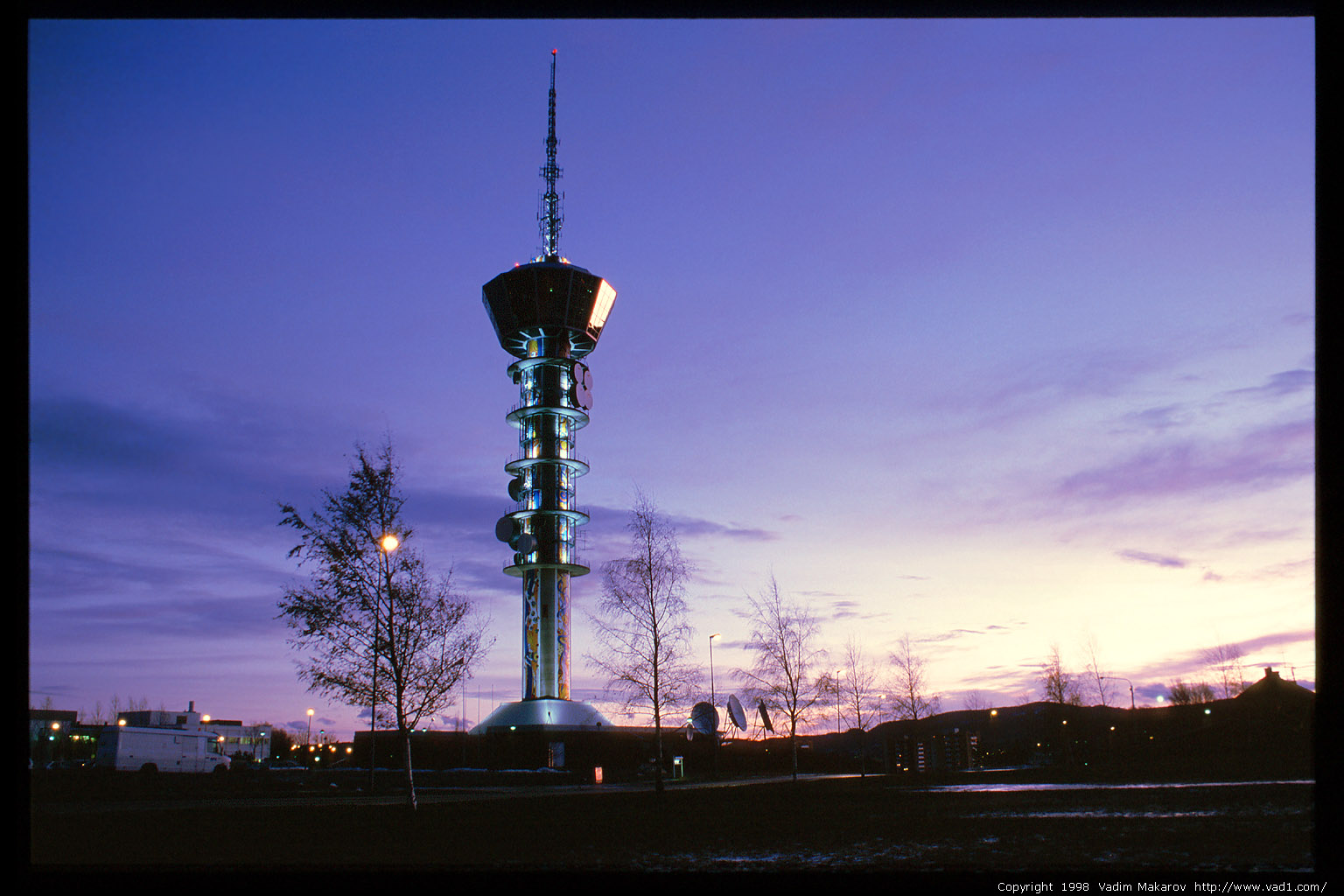 Photo Tyholt T 229 Rnet Tyholt Tv Tower