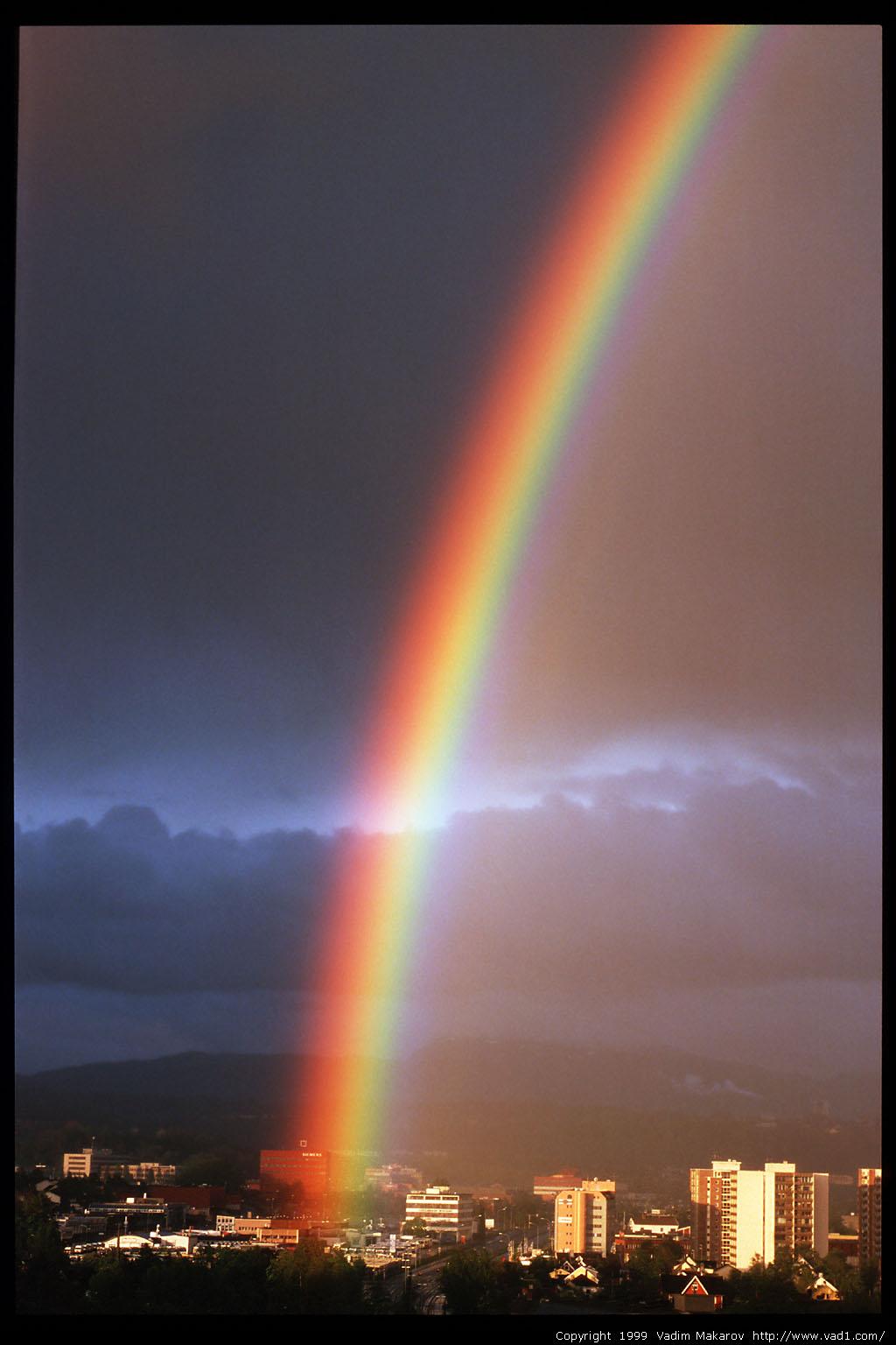 Photo Rainbow In Trondheim